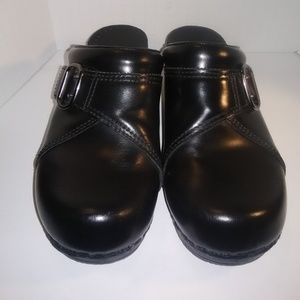 Dansko Womens Black Clog Shoes size 8/38